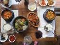 Anniversary Korean meal
