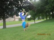 cartwheel action