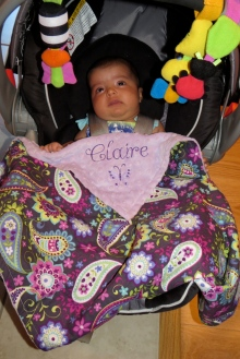 sweet baby Claire