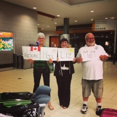surprise welcome home!